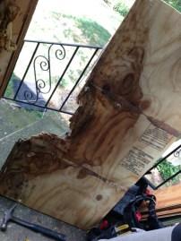 water damaged-amaged-amaged floor :(