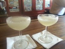 Margaritas at Hussong's
