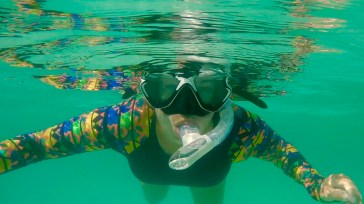 Snorkeling at Isla Coronado