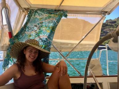 Finally at anchor!