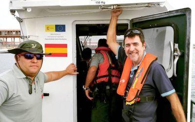 El Acrobat ultima su preparación para la travesía a Canarias