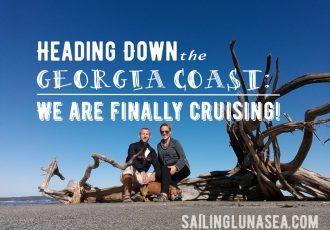 sailing down the georgia coast