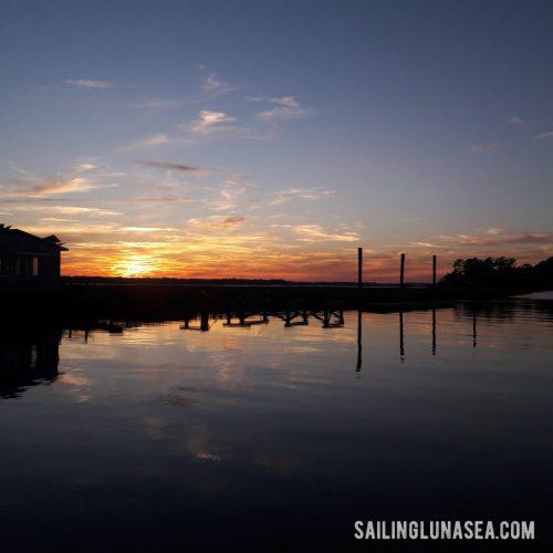 sailing luna sea cruising blog