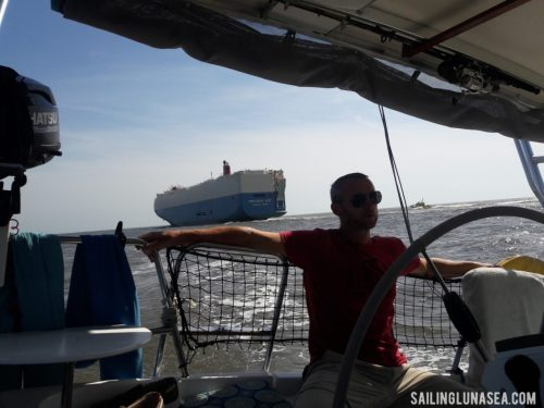 sailing luna sea cruising travel blog st. simons