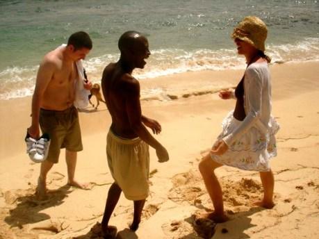 Sadie Kaye, Geoff and Chris