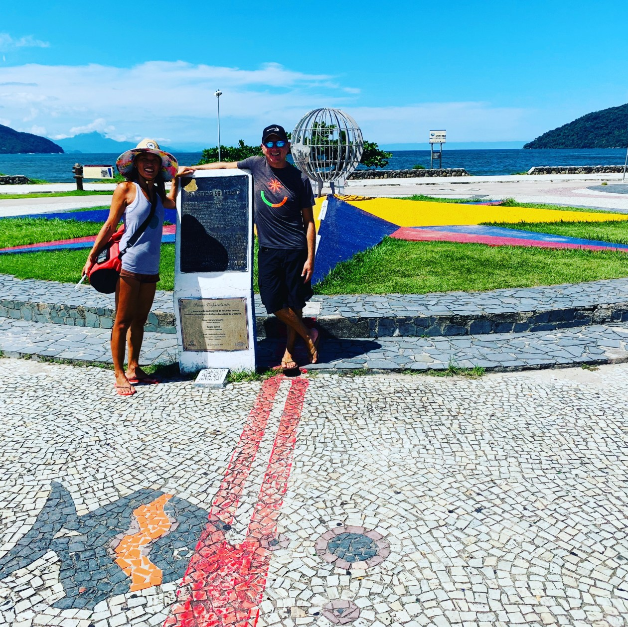 Tropic of Capricorn in Ubatuba