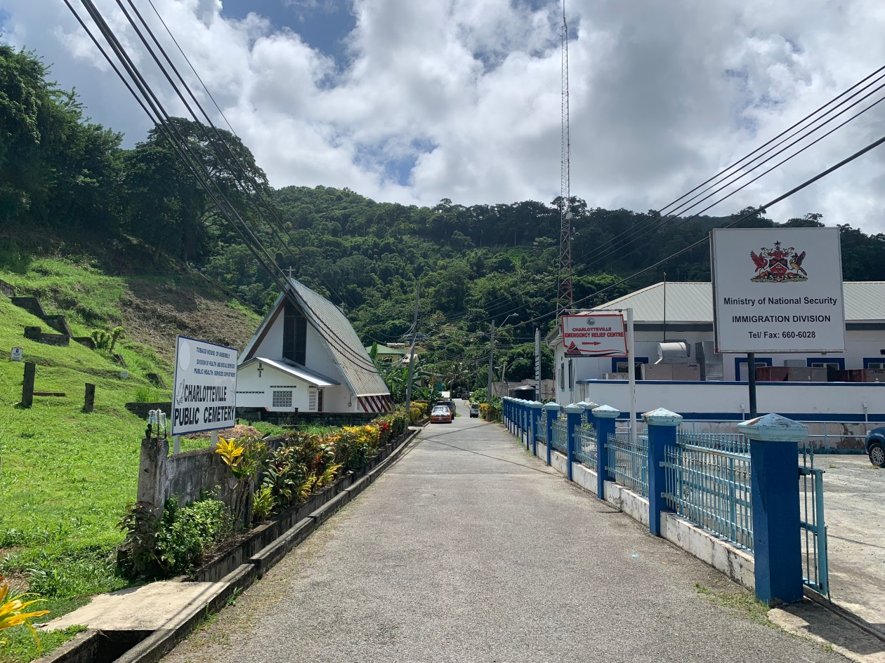 Customs in Charlotteville