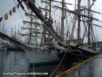 Morgenster and another tall ship