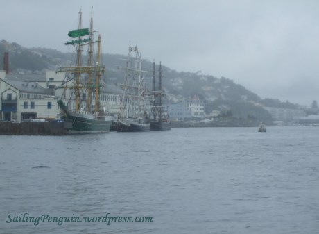 From left to right - Alexander von Humboldt II, Lord Nelson and Roald Amundsen