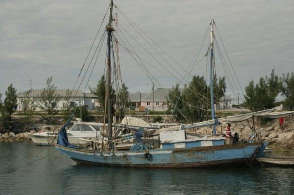 Haitian sailboats.