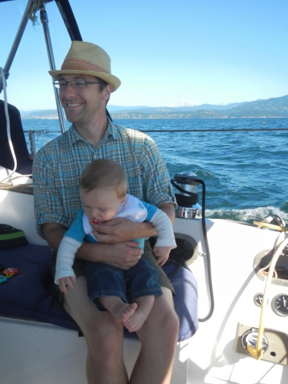 First sail for Cooper