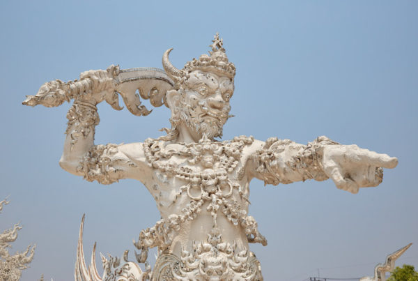 White Temple Guardian
