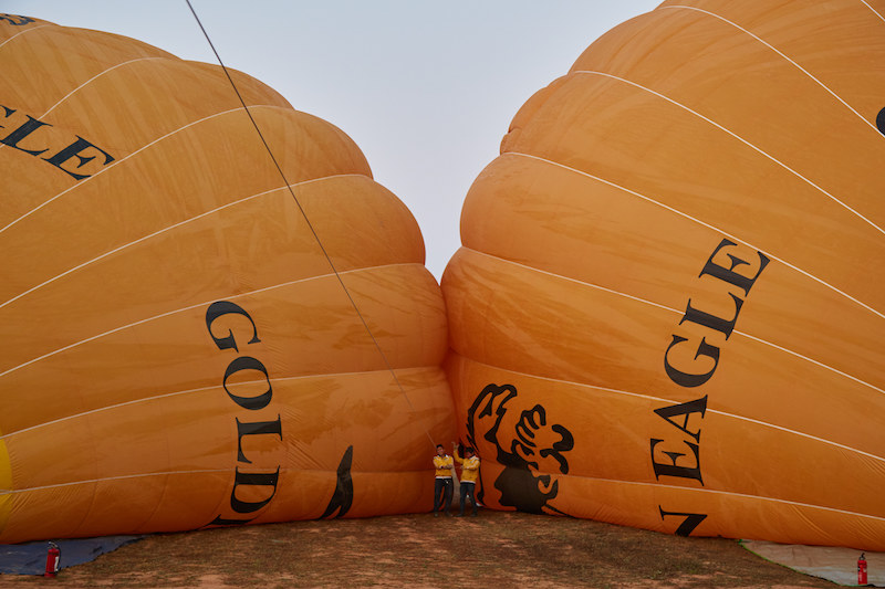 Golden Eagle Balloon Bagan