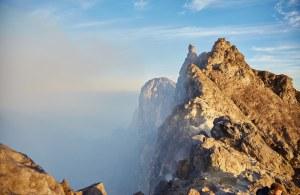 The Peak of Mt, Merapi, Java