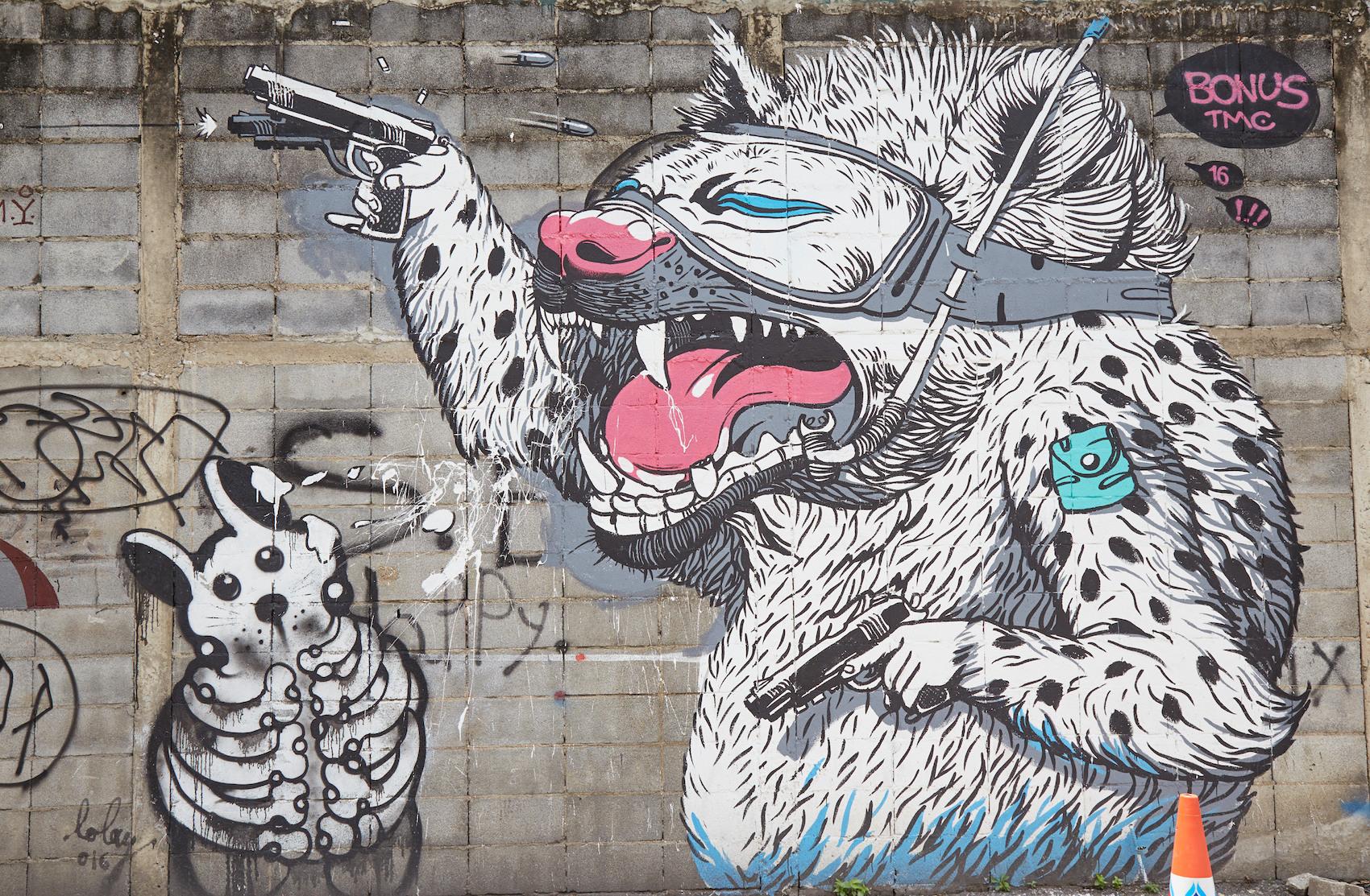Charoen Krung Soi 32 Mural