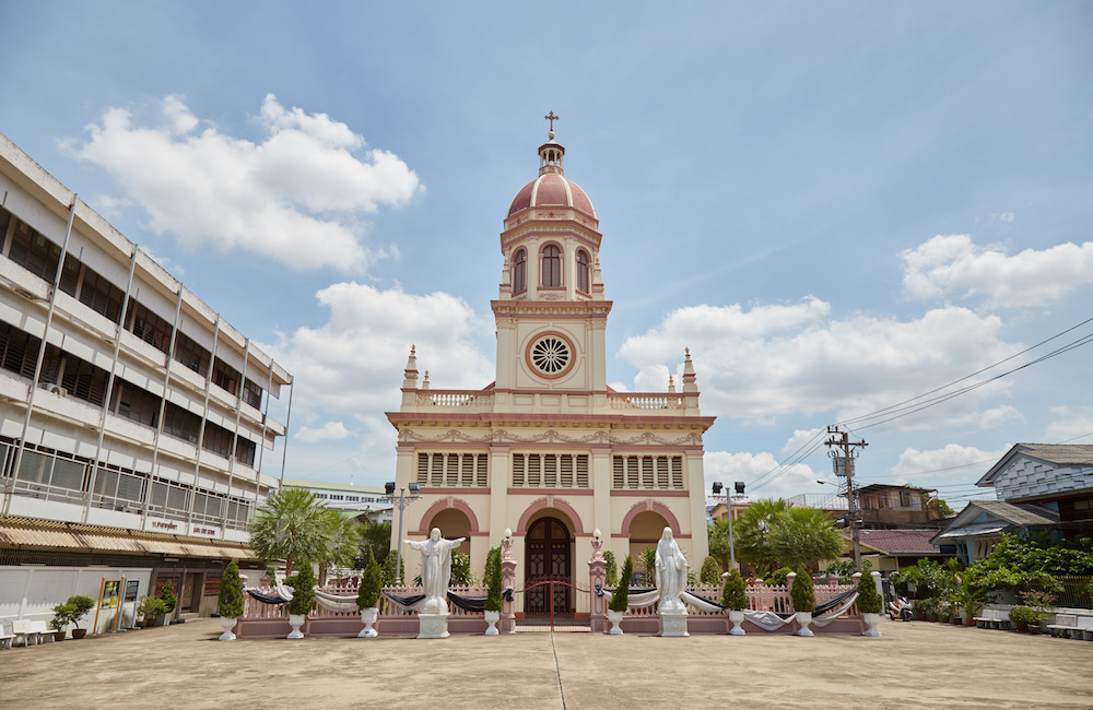 Church of Santa Cruz Bangkok