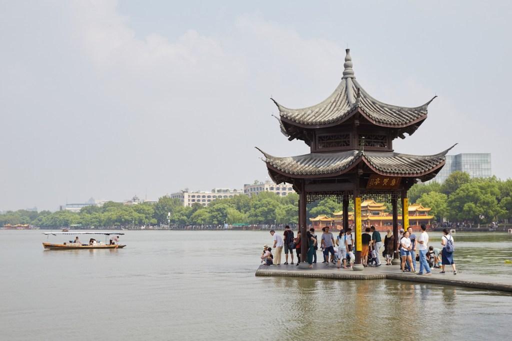Jixian Pavilion Hangzhou