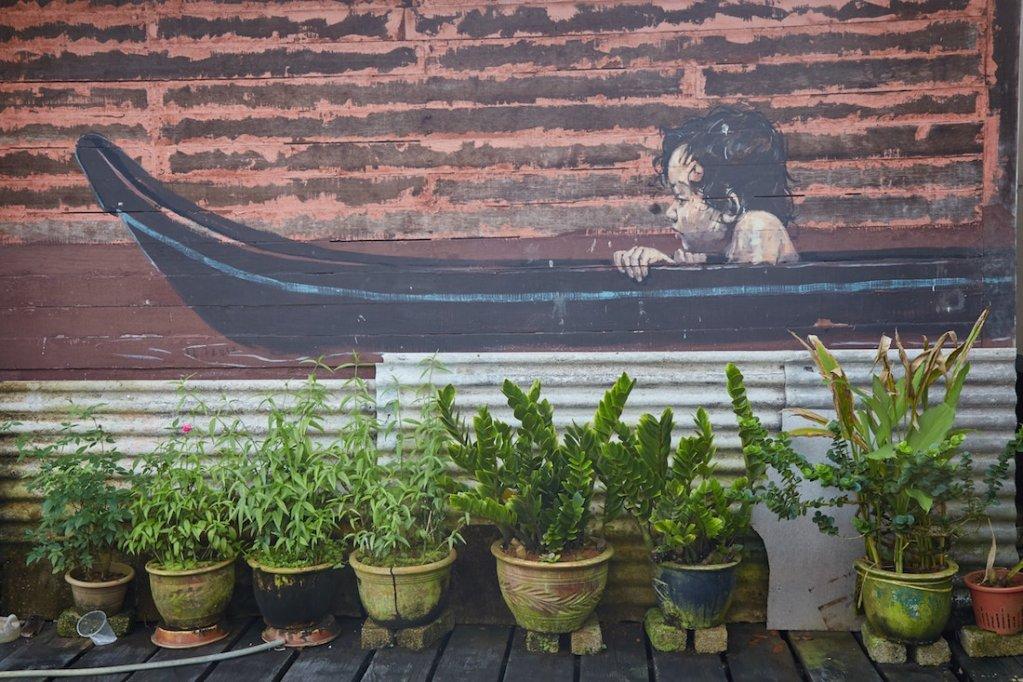 Annah Rais Longhouse Murals