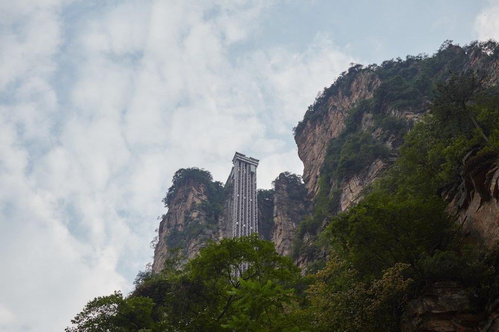 Zhangjiajie National Forest Park Elevator