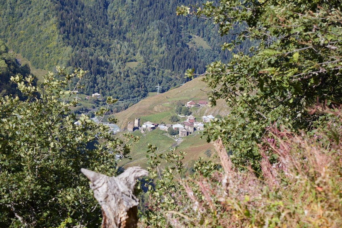 Svaneti Trekking Iprali to Ushguli Georgia