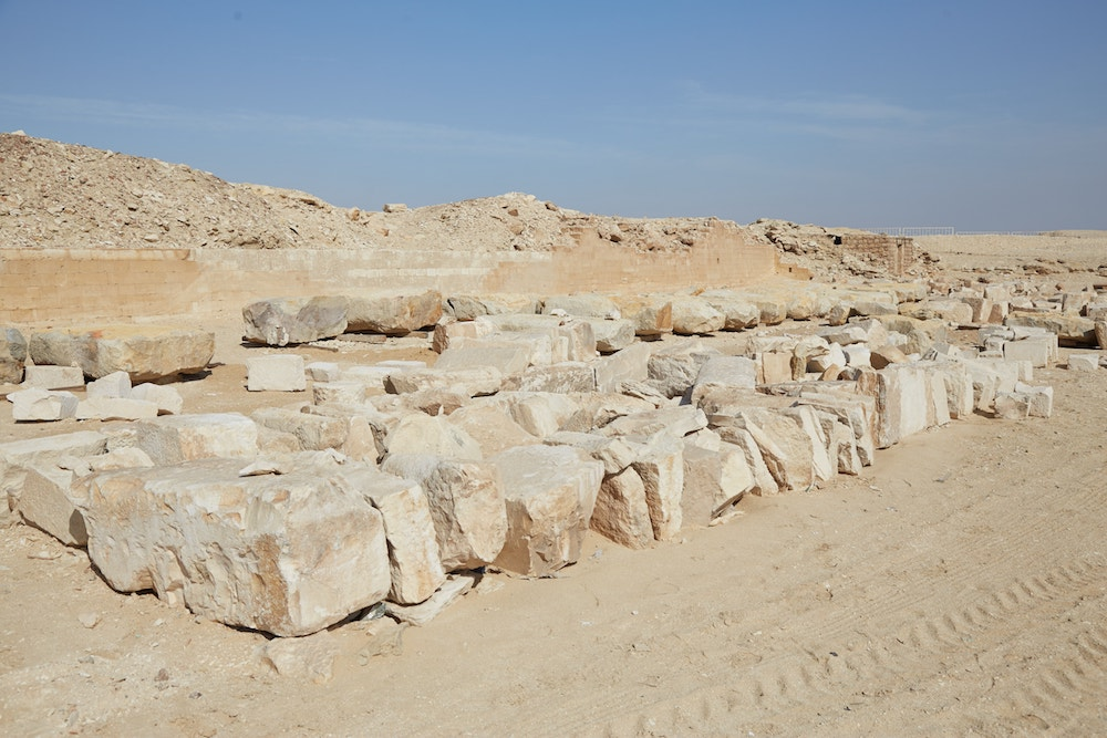 Saqqara Step Pyramid Northern Buildings