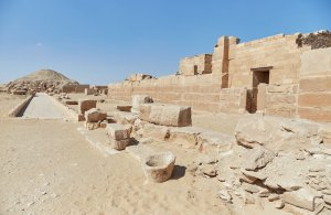 Unas Causeway Saqqara Guide