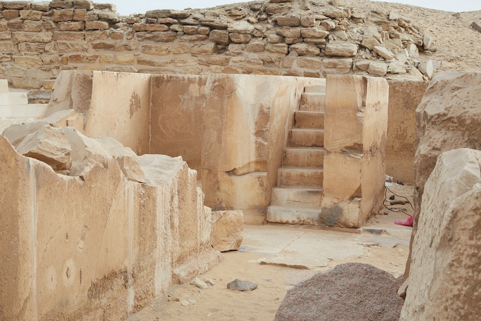 Pyramid of Sahure Abu Sir