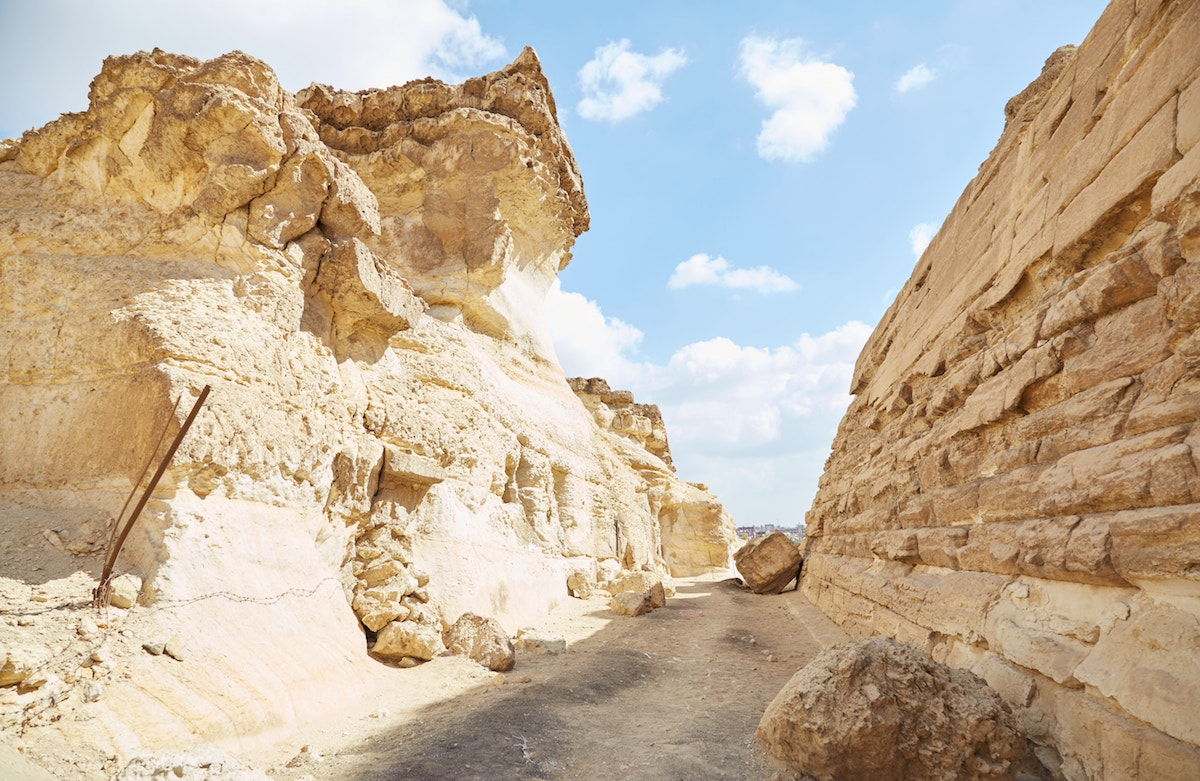 Second Sphinx Giza