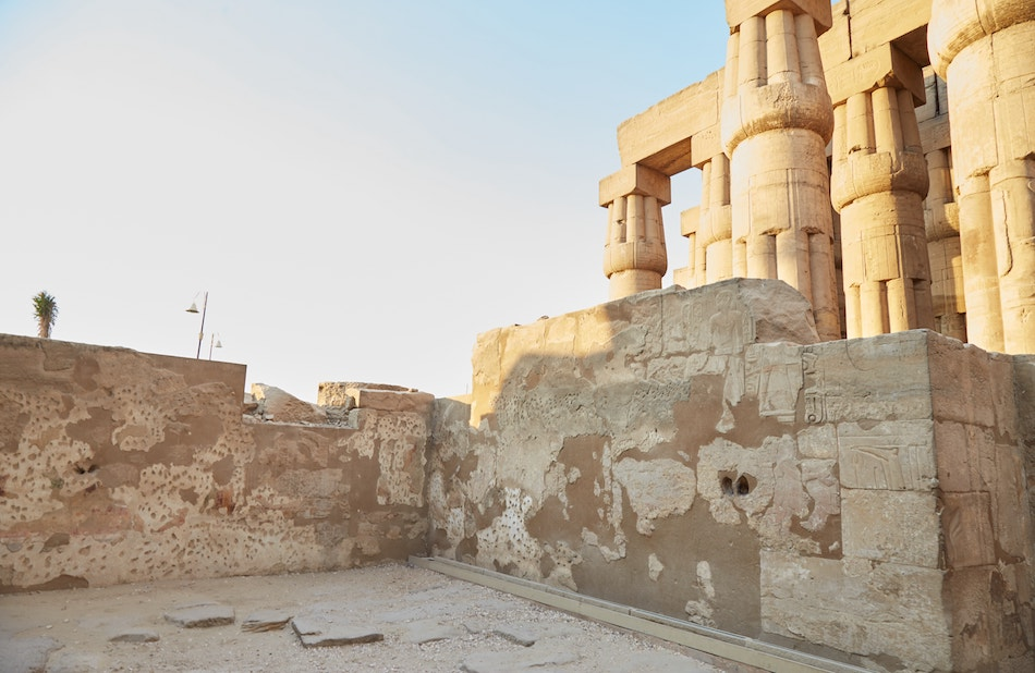 Luxor Temple Hall of Eight Columns