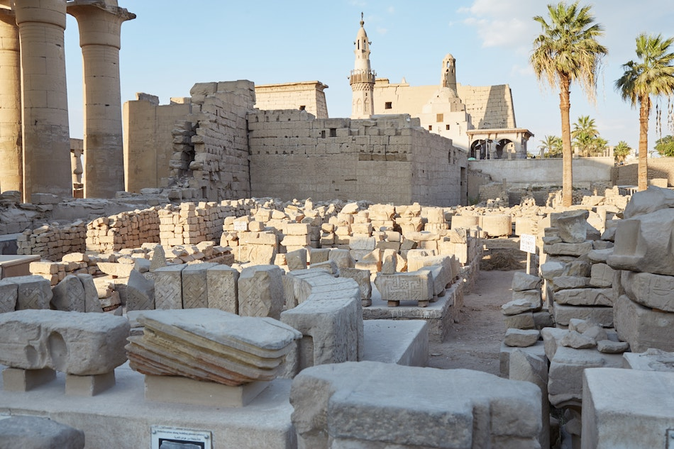 Luxor Temple Temple of Man