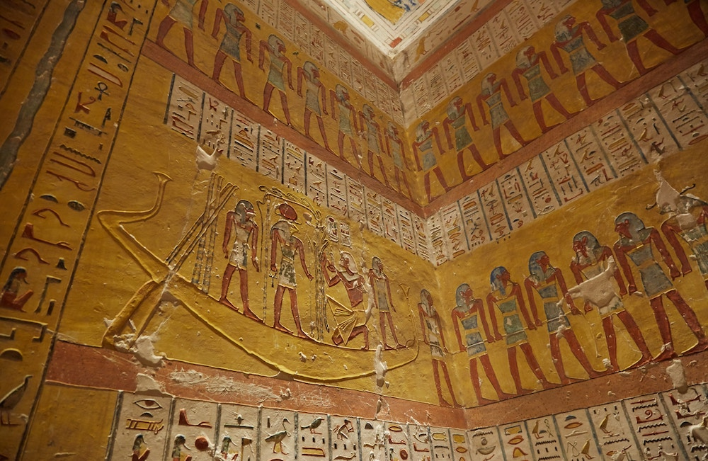 Ramesses IV Tomb Book of Gates