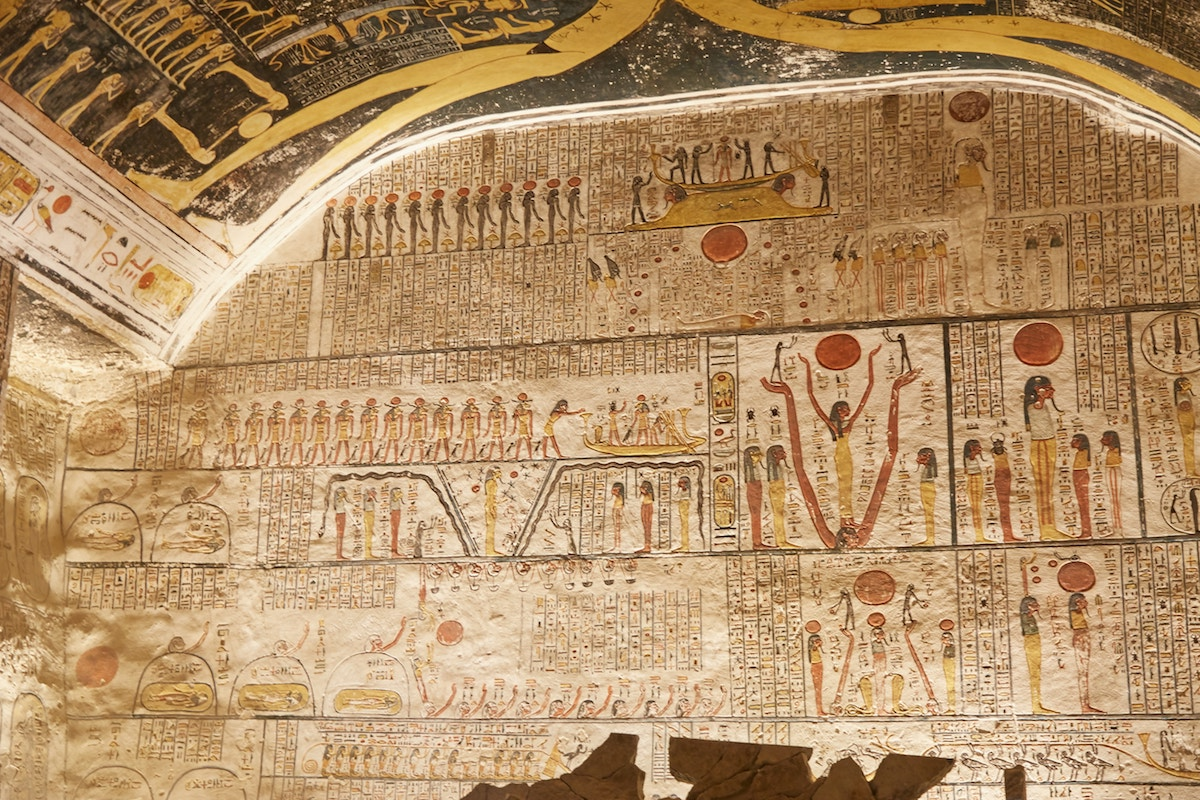 Book of Aker Ancient Egyptian Tombs