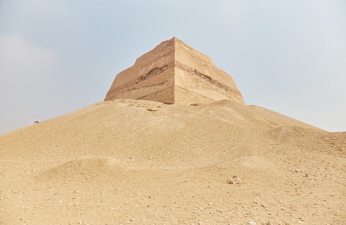 Meidum 4th Dynasty Pyramids