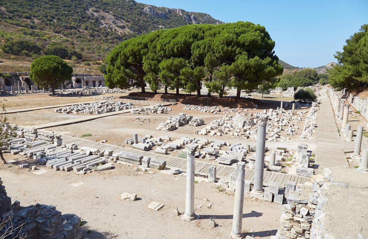 Agora Ephesus Guide