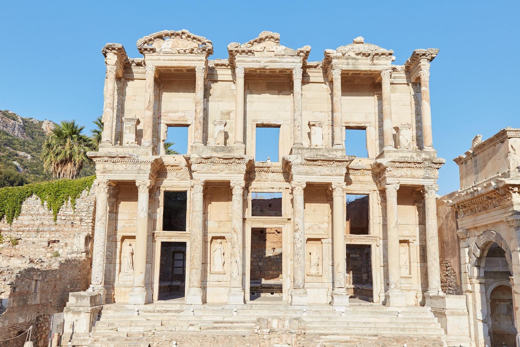 Celsus Library Ephesus Guide