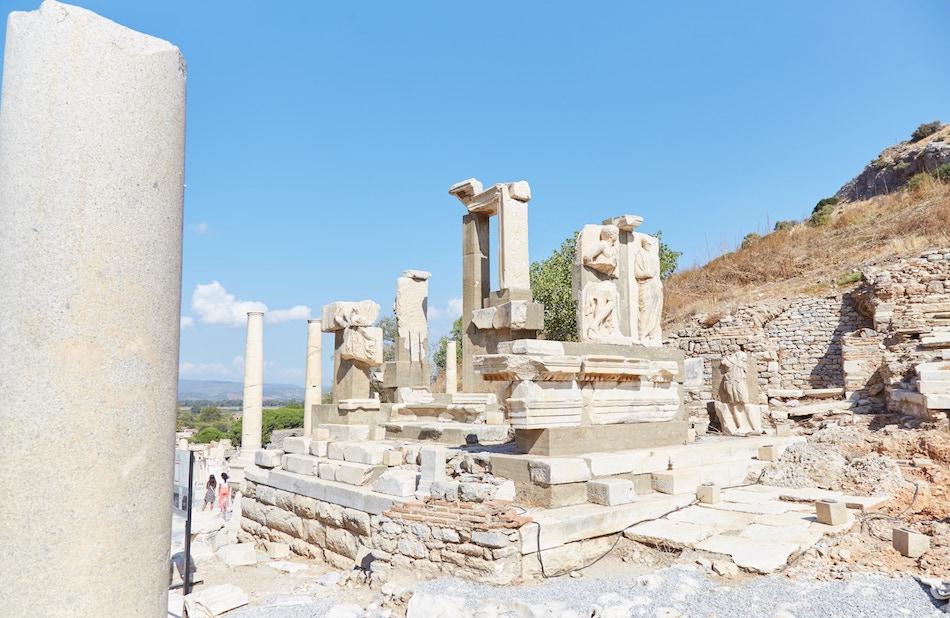 Memmius Monument Ephesus Guide