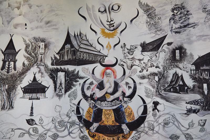 Thawan Duchanee Painting Chiang Rai
