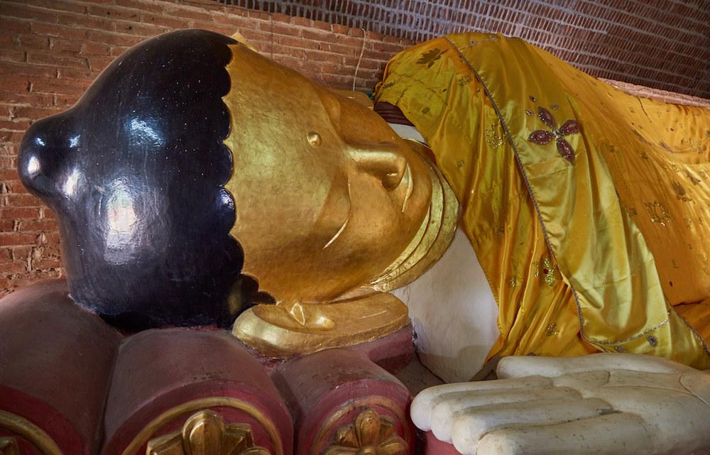 Sleeping Buddha Myanmar