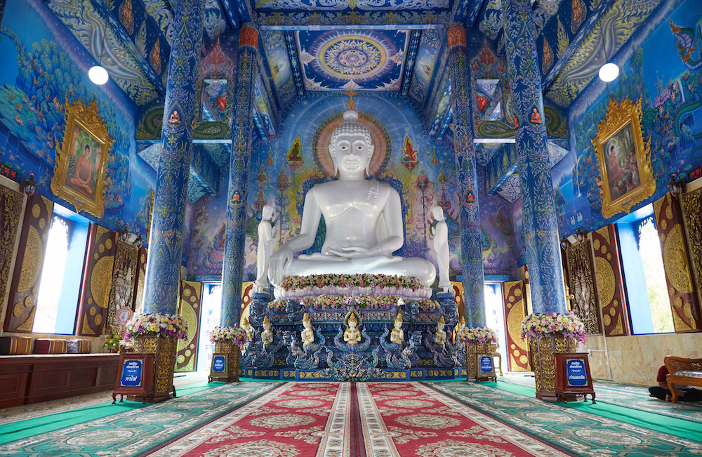 Wat Rong Khun Interior