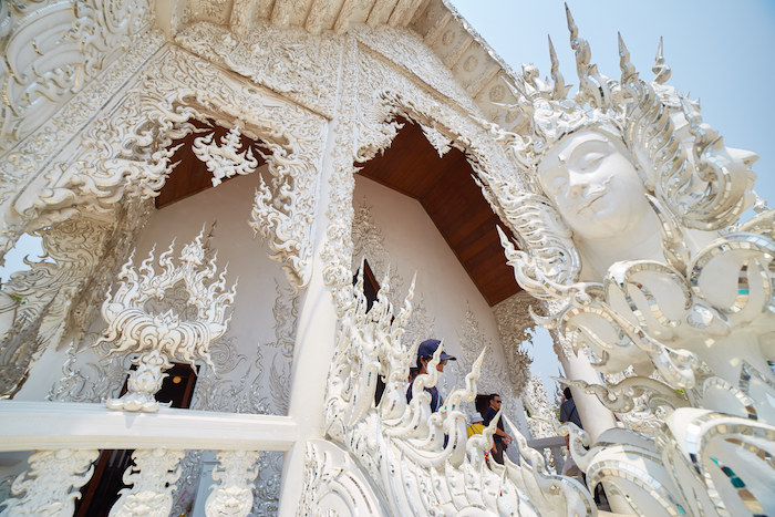 Wat Rong Khun Front Side