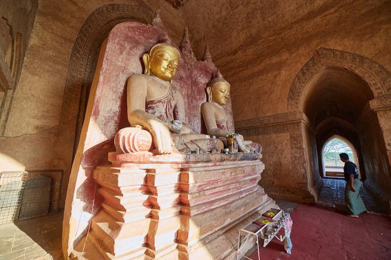 Dhammayan Gyi Twin Buddhas