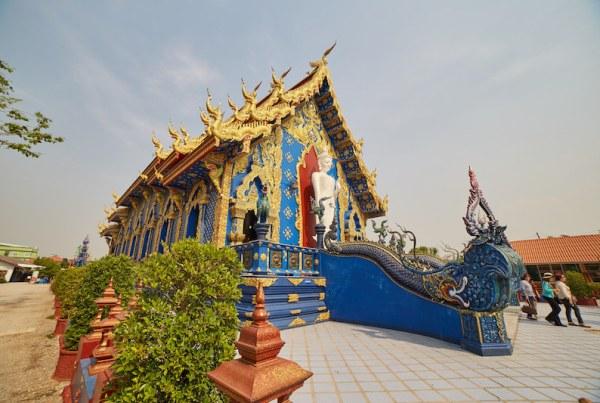 Blue Temple Exterior
