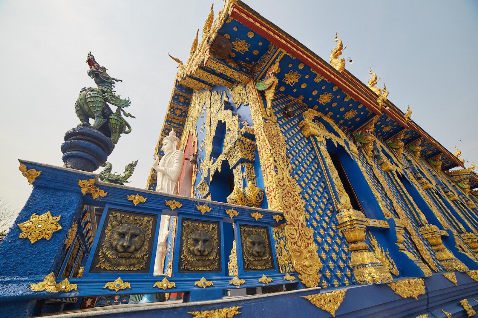 Chiang Rai Blue Temple
