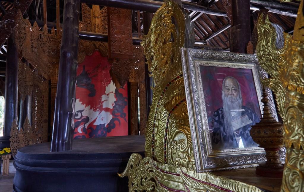 Thawan Duchanee Shrine Black Temple Chiang Rai
