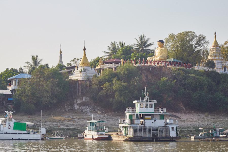 Irrawaddy River Cruise Buddha