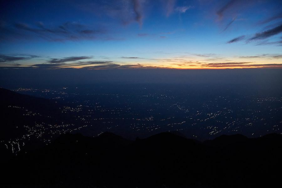 Sunrise over Selo, Yogyakarta