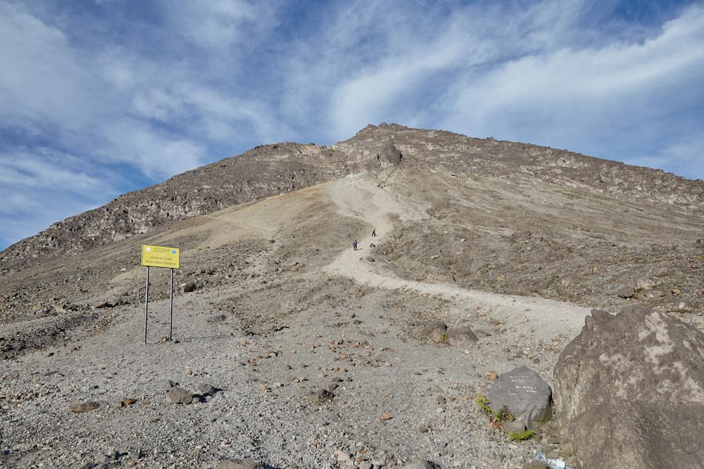 Climbing Mt. Merapi
