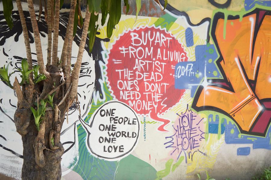 Love Hate Love Mural