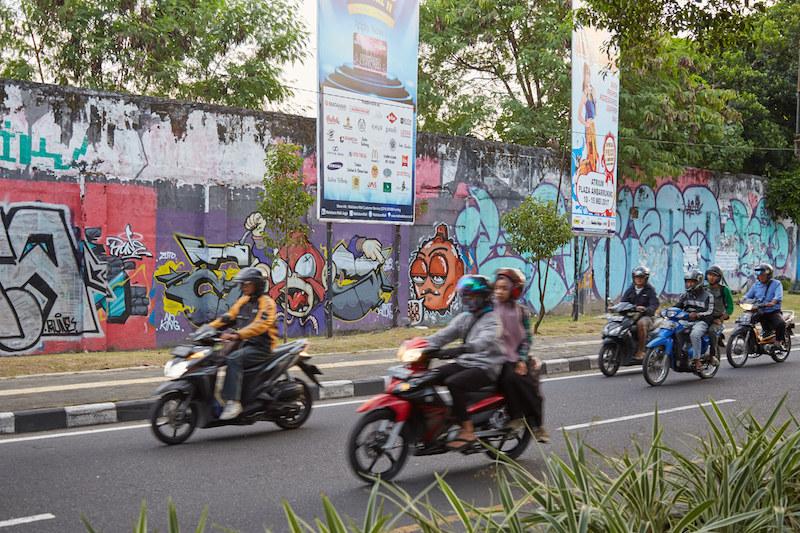 Yogayakarta Stadium Street Art