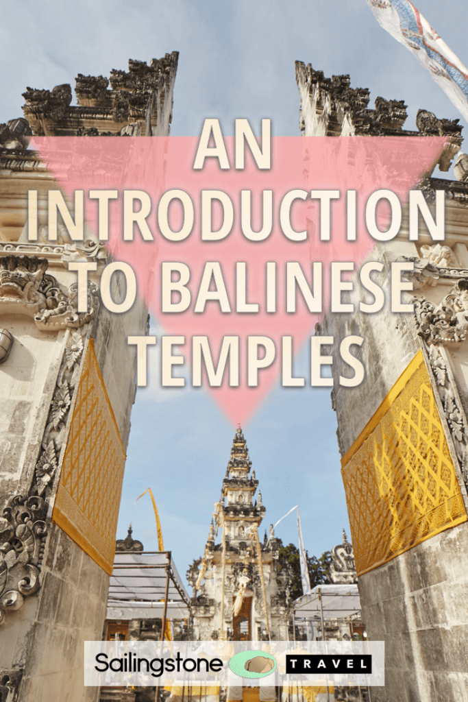 An Introduction to Balinese Temples